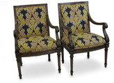 Tigerlily One-of-a-Kind Ikat French Chairs (Set of 2)
