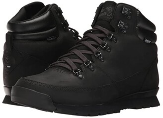 The North Face Back-To-Berkeley Redux Leather (TNF Black/TNF Black/TNF Black) Men's Hiking Boots