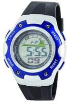 Dunlop Honour Men's Digital Watch with LCD Dial Digital Display and Black PU Strap DUN-238-G03