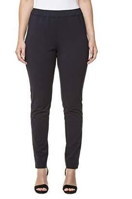 Ulla Popken Women's Jerseyhose Trousers, (Black 10), UK