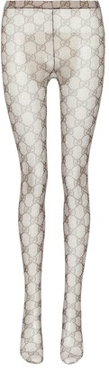 Gucci GG patterned tights
