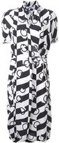 Chalayan printed wrap dress