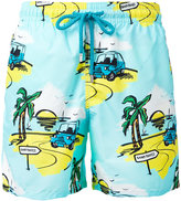 Vilebrequin tropical print swim shorts - men - Cotton/Polyamide/Polyester - L