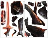 "Star Wars Star WarsTM ""Episode VII: The Force Awakens"" Kylo Ren Peel-and-Stick Glow Wall Decals"