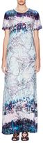 BCBGMAXAZRIA Alena Printed Maxi Dress