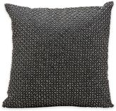 Kathy Ireland Home® by Gorham Square Tic Tac Toe Throw Pillow in Charcoal