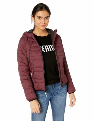 Andrew Marc Women's Hooded Down Alternative Jacket