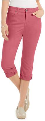 Style&Co. Style & Co Petite Curvy Cuffed Capri Jeans