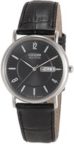 Citizen Men's BM8240-03E Black Leather Leather Eco-Drive Watch