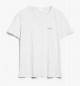 Armedangels White Embroidered Organic Cotton Maraa Mindset T Shirt - XS / Blanc