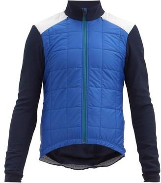 Café Du Cycliste Leonie Thermal Padded Jacket - Blue