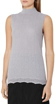 Reiss Anni Knit Sleeveless Top