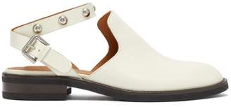 See by Chloe Studded Backless Leather Loafers - Womens - Ivory