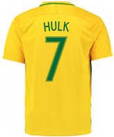 Nike 2016-17 Brazil Home Shirt (Hulk 7) Yellow