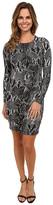 Karen Kane Snake Print Sheath Dress