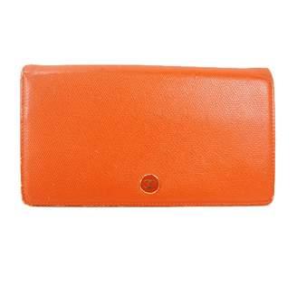Chanel Orange Leather Wallets