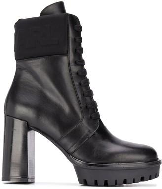 Karl Lagerfeld Paris Voyage Iv ankle boots