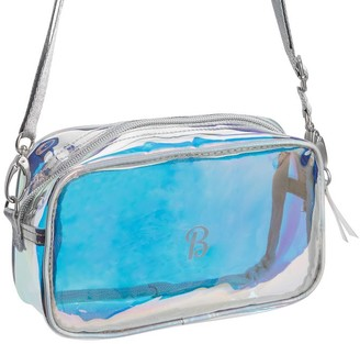 Pottery Barn Teen Clearly There Iridescent Crossbody Bag