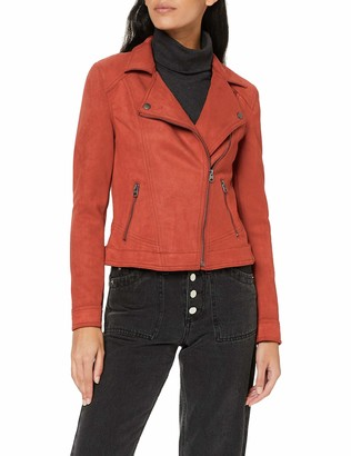 Garcia Damen Jacke GS900792 Rot (Rosso 3497) 34 (Herstellergroe: XS)
