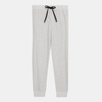 Theory Weekend Jogger in Waffle Knit Cotton