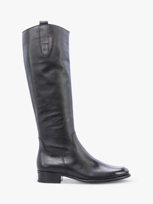 Gabor Brook Slim Fit Low Block Heel Knee Boots