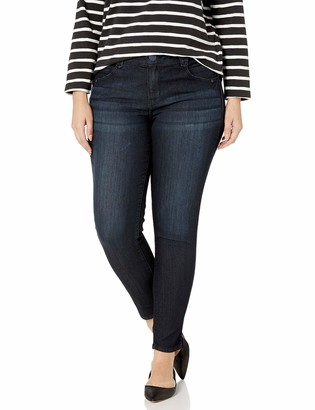 Democracy Women's Plus Size Ab Solution Boot Lift Jegging