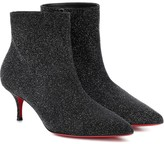Christian Louboutin So Kate Booty 55 glitter ankle boots