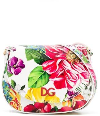 Dolce & Gabbana Kids Floral Shoulder Bag
