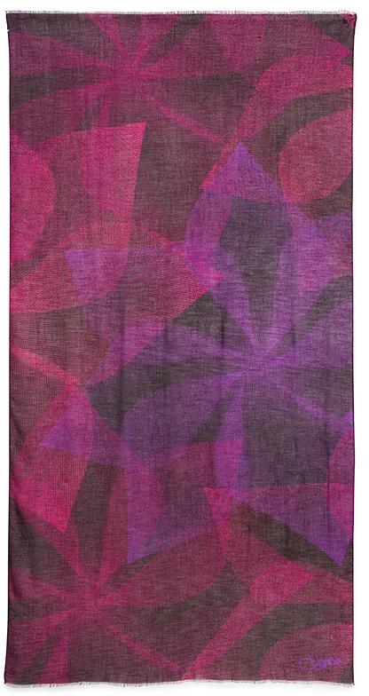 Diane von Furstenberg Grace Modal Printed Scarf