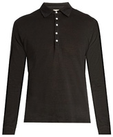 Massimo Alba Raya Long-sleeved Linen Polo Shirt