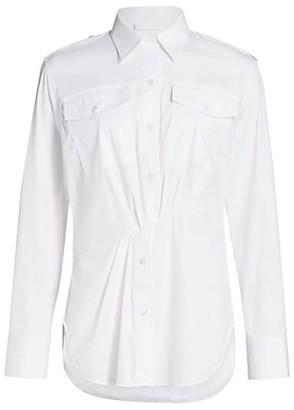 Helmut Lang Knot Dress Shirt