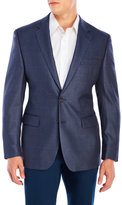 Lauren Ralph Lauren Blue Plaid Silk-Blend Sport Coat
