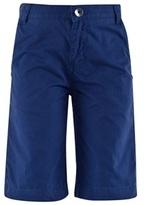 BOSS Navy Twill Bermuda Shorts