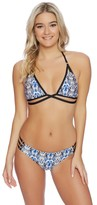 Ella Moss Tribal Romance Strap Side Bikini Bottom