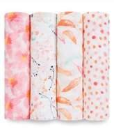Aden Anais aden + anais Baby's Petal Blooms 4-Pack Swaddling Cloth Set