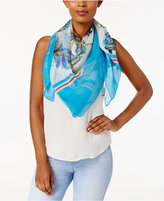 Vince Camuto Cuban Car Silk Square Scarf