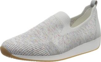 ara Women's LISSABON Loafers Grey (Candy-Weiss Nebbia 13) 4 UK
