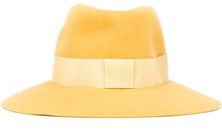 Maison Michel logo plaque hat