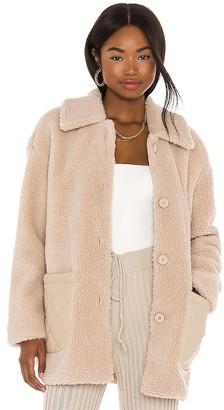 BB Dakota Yeti-To-Wear Faux Fur Coat