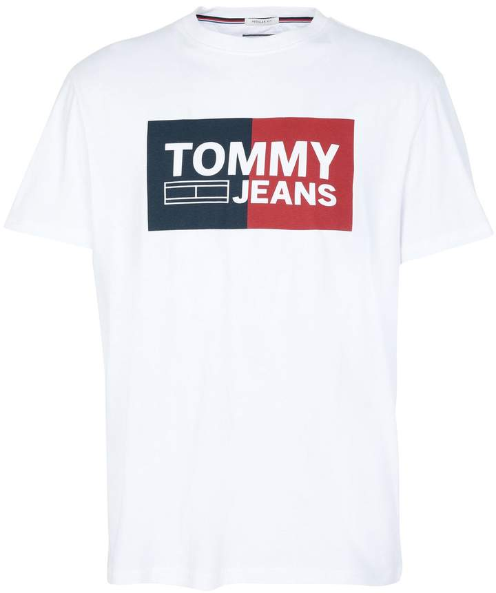 caa2bdd1 Tommy Jeans White Men's Clothes - ShopStyle
