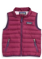 Patagonia Infant Girl's Water Resistant Down Insulated Sweater Vest