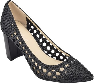 Marc Fisher Perforated Dress Pump