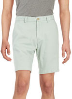 Black Brown 1826 9 Inch Cotton Twill Shorts