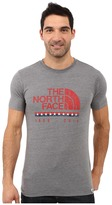 The North Face Short Sleeve USA Tri-Blend Tee Men's Clothing