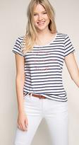 Esprit OUTLET nautical striped print t-shirt