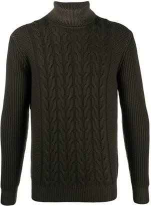 Altea Cable-Knit Roll Neck Jumper