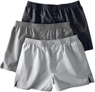 La Redoute Collections Plus Pack of 3 Cotton Boxer Shorts