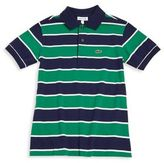 Lacoste Toddler's, Little Boy's & Boy's Striped Jersey Polo