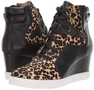 Linea Paolo Fleur 2 (Black/Sand/Black) Women's Shoes
