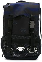 Kenzo multi logo backpack